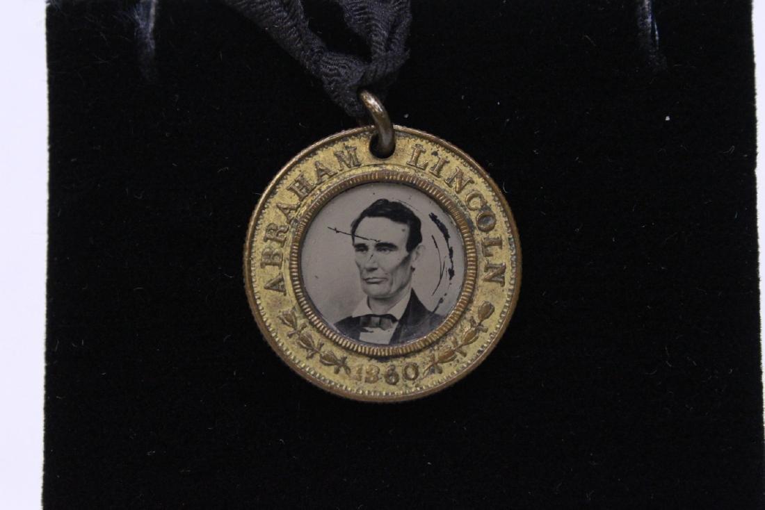 1860 Abraham Lincoln campaign button