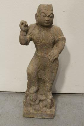 A rare Chinese antique stone carving