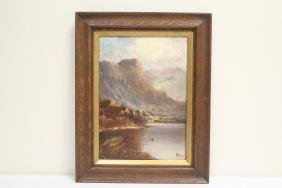 Oil on canvas by John Henry Boel