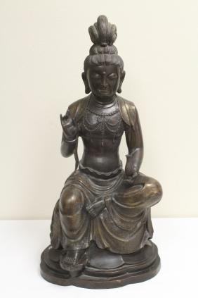 Massive Chinese vintage bronze sculpture