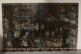 Chinese 18th/19th C. Coromandel Room Divider
