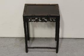 Chinese hardwood small table