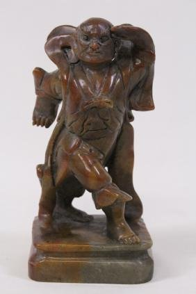 Chinese stone carved Lohan