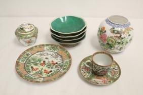 8pc Chinese antique porcelain pieces