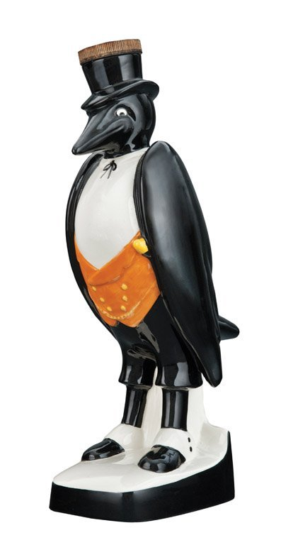 5: A Royal Doulton bird form whiskey bottle for Old Cro