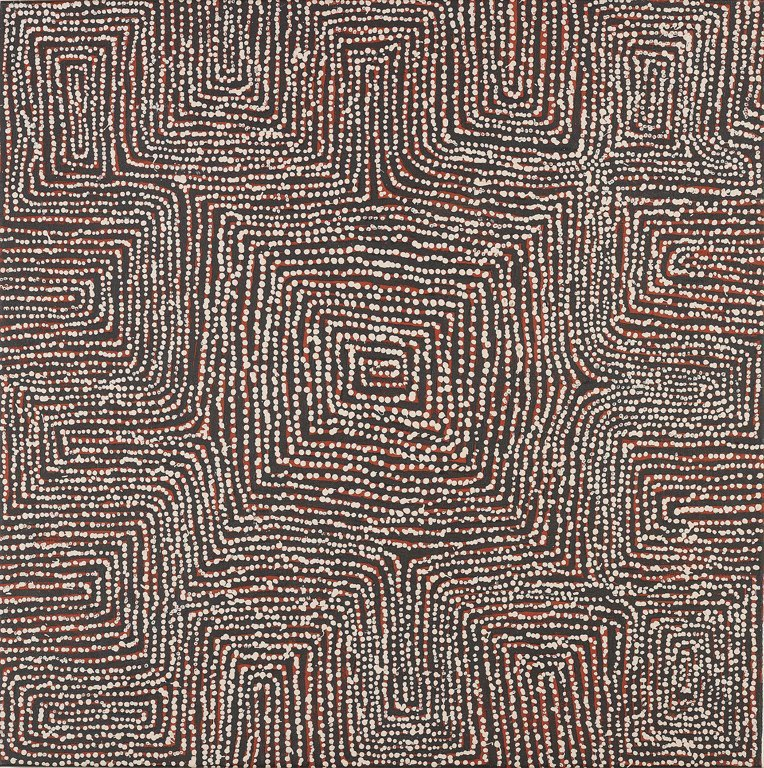 265: GEORGE WARD TJUNGURRAYI Untitled, Australia 2005