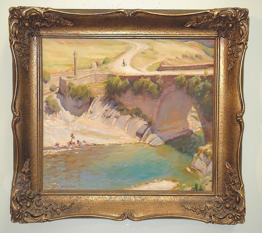3: HERBERT C. ROSE (1890-1937) Untitled -  Roman Bridge