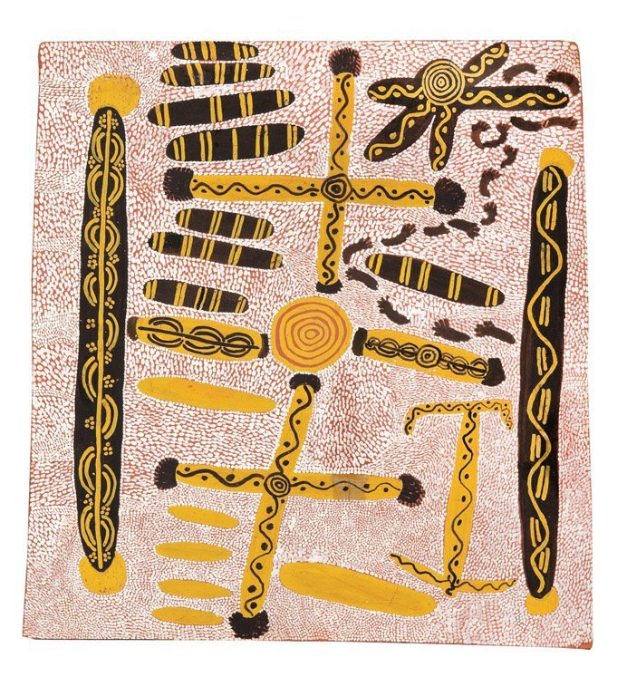 115: UTA UTA TJANGALA  (1926–1990) Big Corroboree with