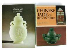 151 Two Reference Books Chinese Jade of Five Centuri