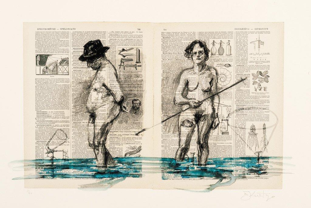 1: WILLIAM KENTRIDGE,  SOUTH AFRICAN (BORN 1955)  Spect