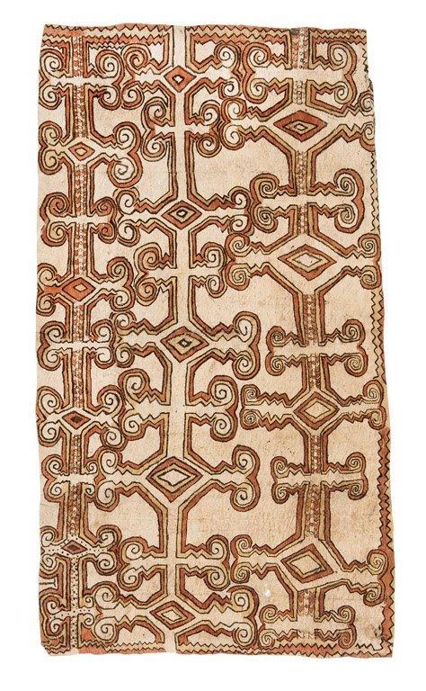 12: NERRY KEME  Odunege – Jungle Vine, 2003  bark cloth
