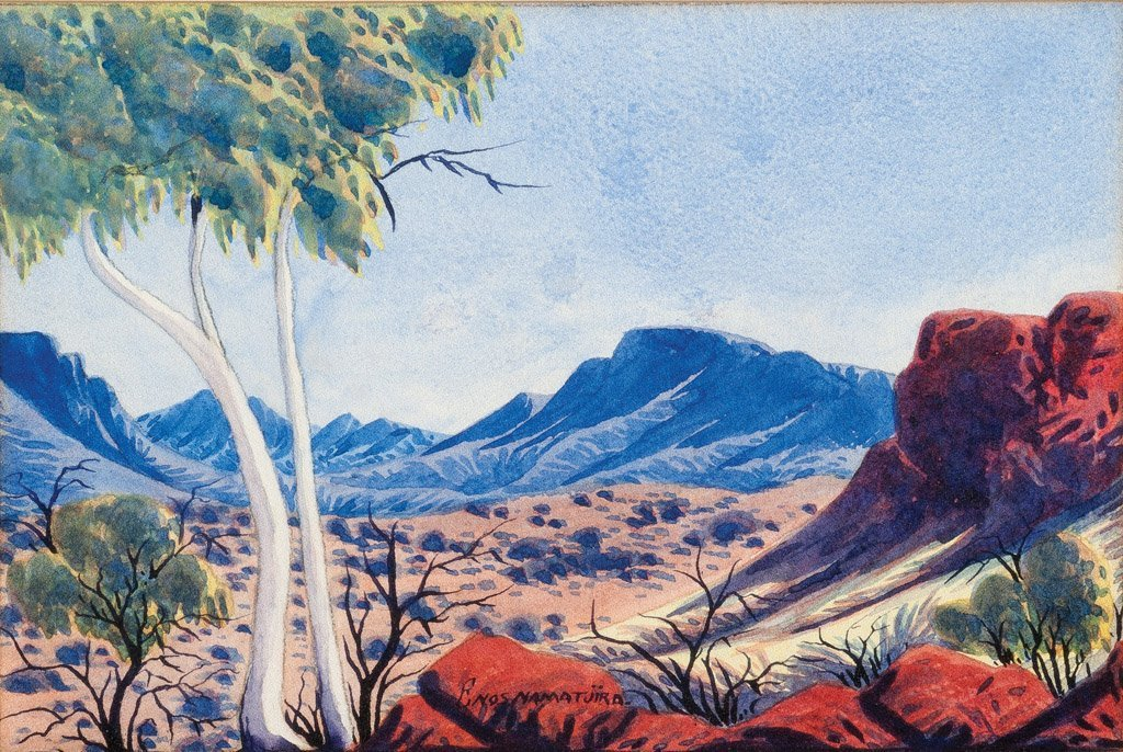 18: ENOS NAMATJIRA (1920-1966) Central Australian lands