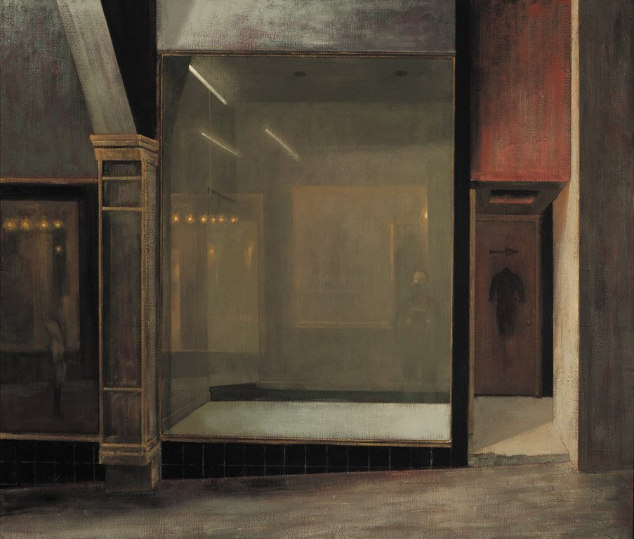 138: RICK AMOR (BORN 1948) Empty Shop in Arcade, 1994 O