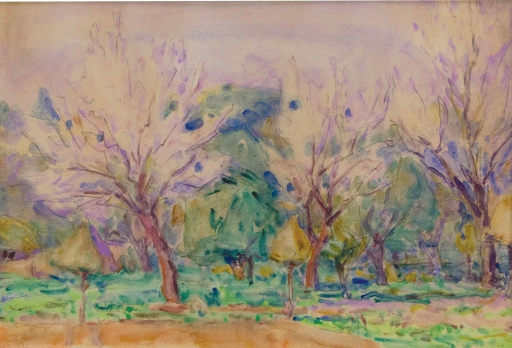 5: JOHN PETER RUSSELL (1858–1930) Untitled, 1920 waterc