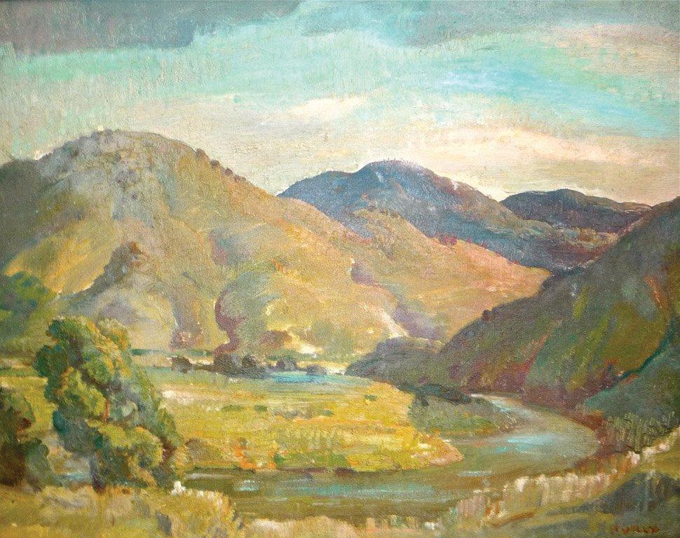 12: ARTHUR MURCH (1902–1989) Liverpool Ranges oil on ca