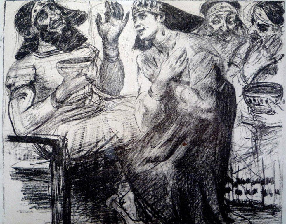 24: LOVIS CORINTH, GERMAN (1858–1925) Judith im Zeit de