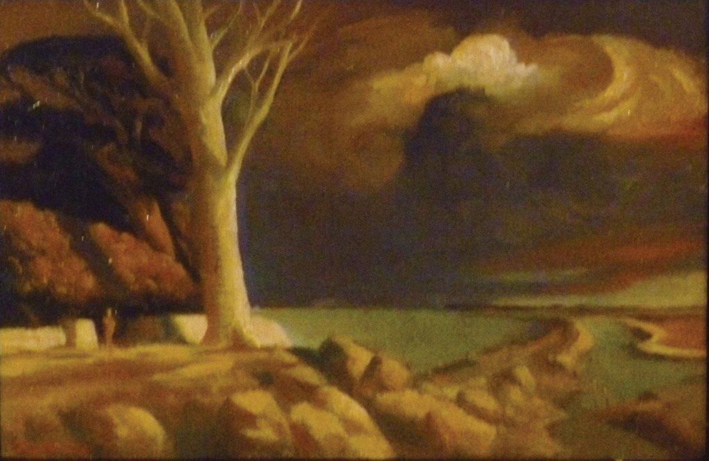 25: RICK AMOR (BORN 1948) Agamemnon's Wood, 2008  oil o