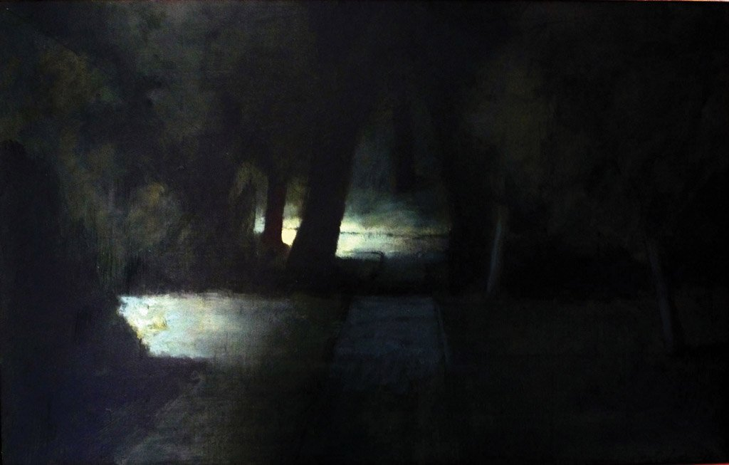 26: RICK AMOR (BORN 1948) Study for Evening in the Gard