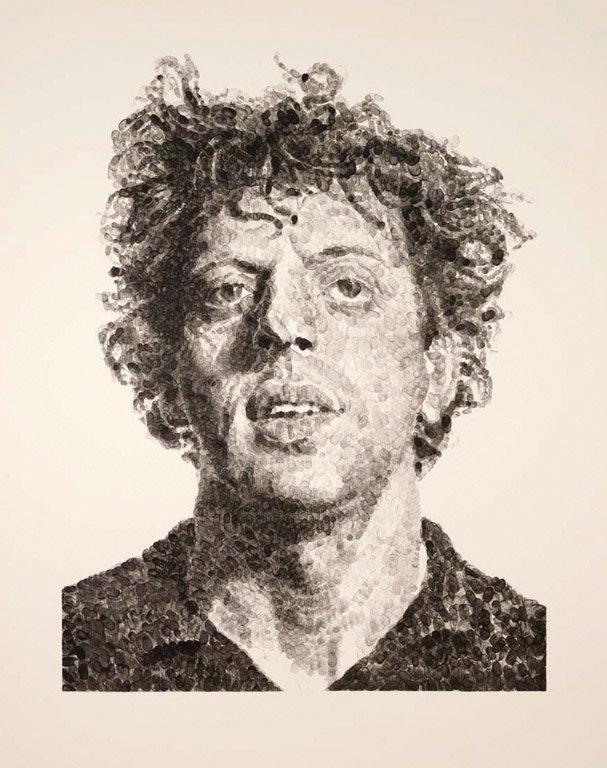 43: CHUCK CLOSE, AMERICAN (BORN 1940) Phil/Fingerprint