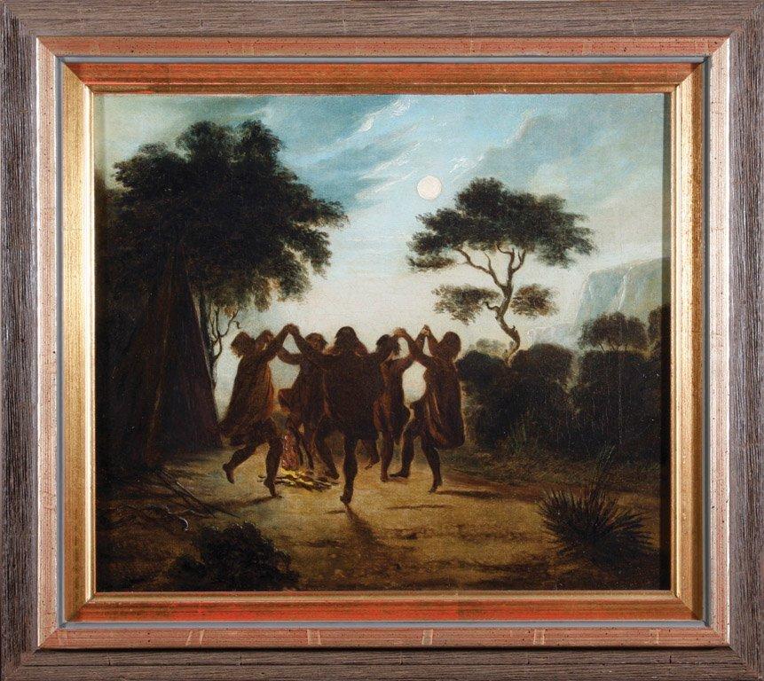 2: ATTRIBUTED TO AUGUSTUS EARLE  (1793–1839) Aborigines