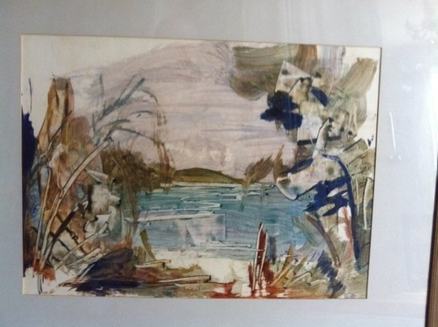 17: ROSAMOND MCCULLOCH (1905–1971) Coastal Scene waterc