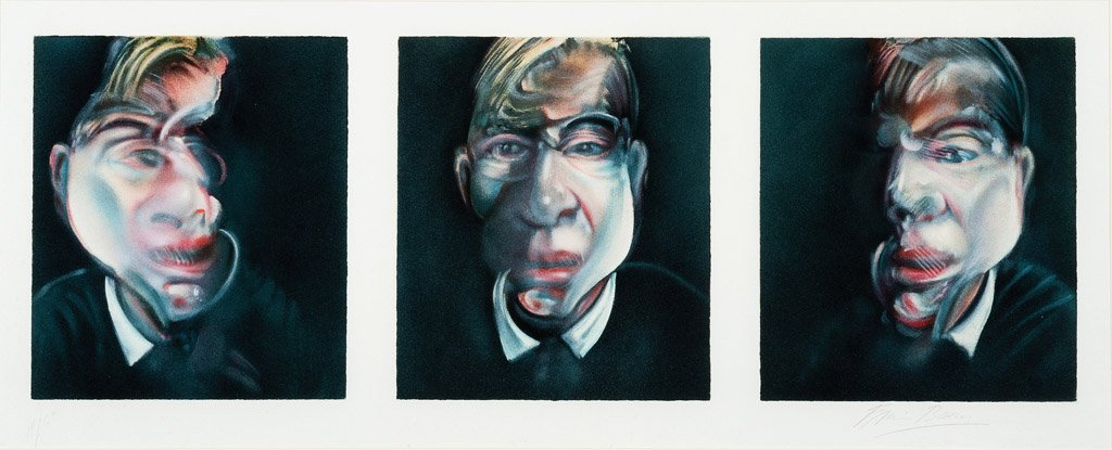 392: FRANCIS BACON  (BRITAIN, 1909–1992) Three Studies