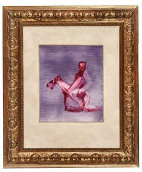 SIDNEY ROBERT NOLAN (1917�1992) Kelly On Horseback