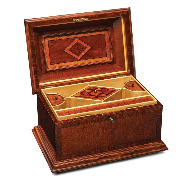 398: A fine and important Australian specimen wood box
