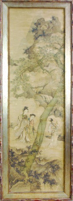 552: A fine quality Chinese scroll painting, Qing Dynas