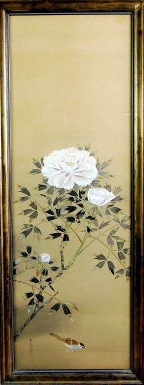 554: A Japanese painting, Meiji/Taisho period, early 20