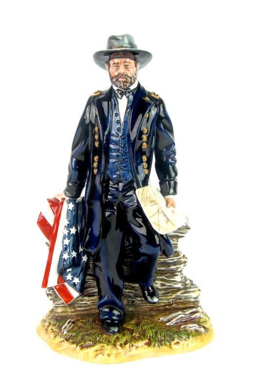 A Royal Doulton figurine of Lieutenant General Ulysses
