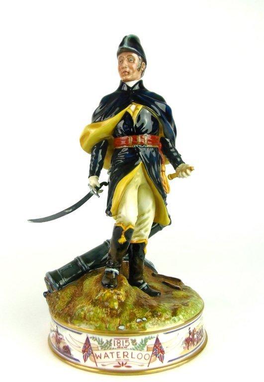 A Royal Doulton figure, Duke of Wellington by Alan Masl