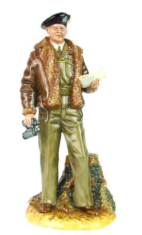 A Royal Doulton figurine, Field Marshall Montgomery by