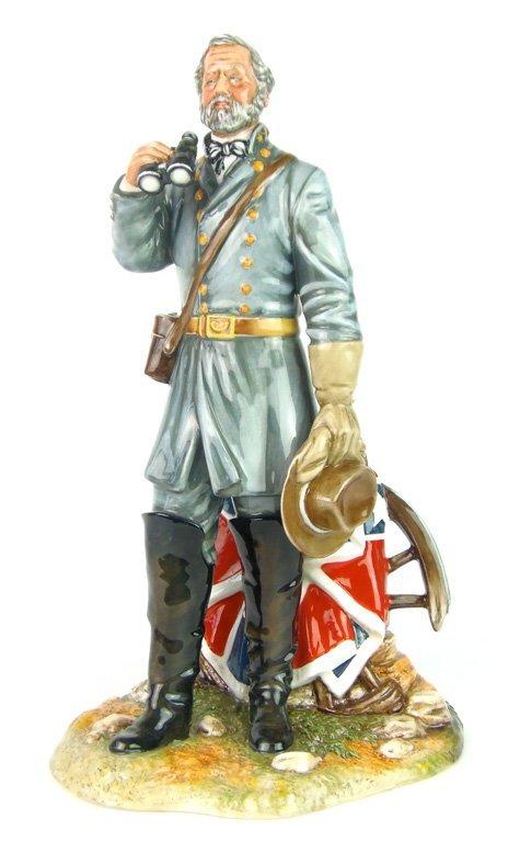 A Royal Doulton figure, General Robert E Lee by Robert