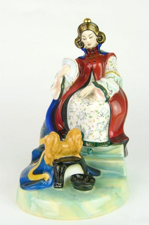 A Royal Doulton figurine, Le Femmes Fatale, Tz'u - HSI
