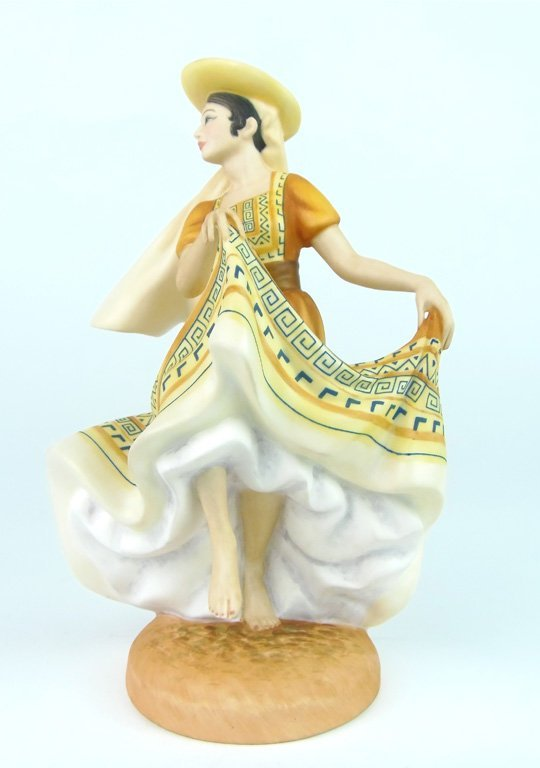 A Royal Doulton figure, Dancers of the World, Mexican D