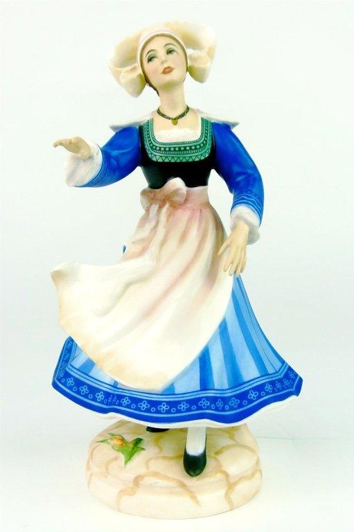 A Royal Doulton figure, Dancers of the World, Breton Da