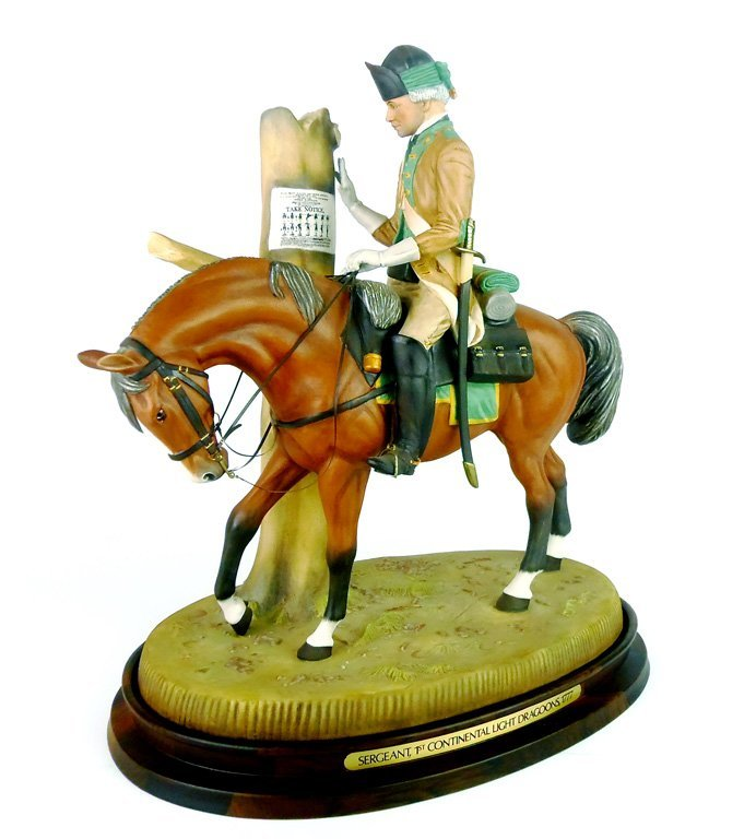 A Royal Doulton figure, Williamsburg, Soldiers of the R