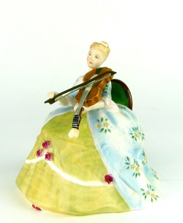 A Royal Doulton figurine, Viola D'Amore by Margaret Dav