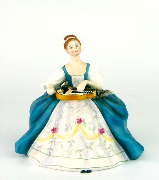 A Royal Doulton figurine, Hurdy Gurdy by Margaret Davie