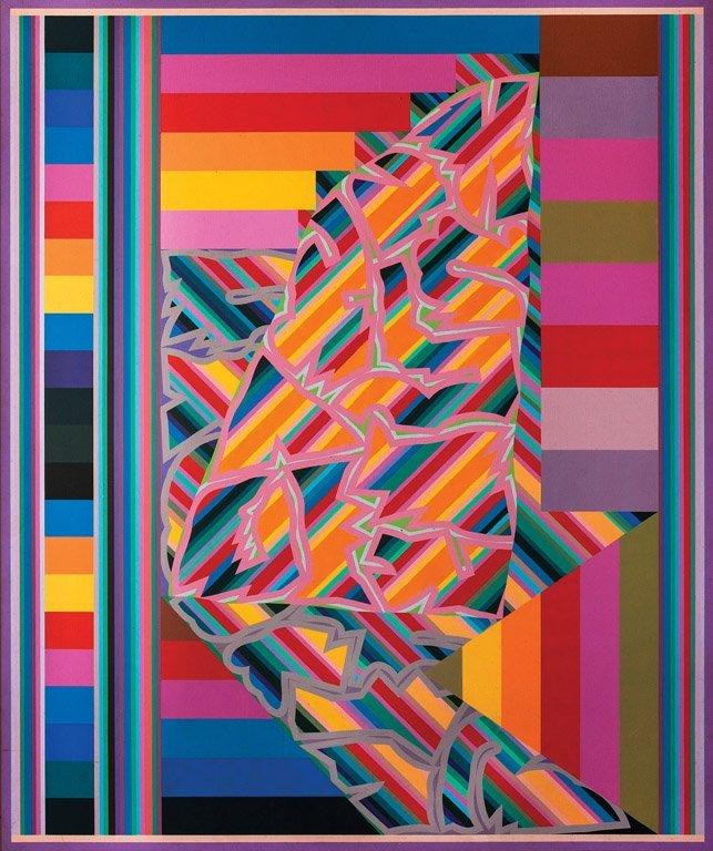 ALUN LEACH-JONES (BORN 1937) Lotus oil on canvas signed