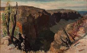 ARTHUR JAMES MURCH (1902–1989) Untitled – Valley oil o