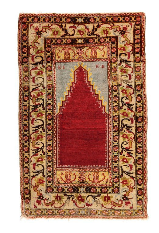 A Prayer rug, Taurus Mountains, Central Anatolia, early