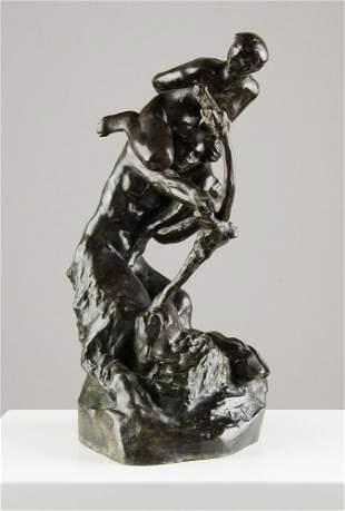 AUGUSTE RODIN (FRENCH, 1840-1917) Untitled - Centaur a