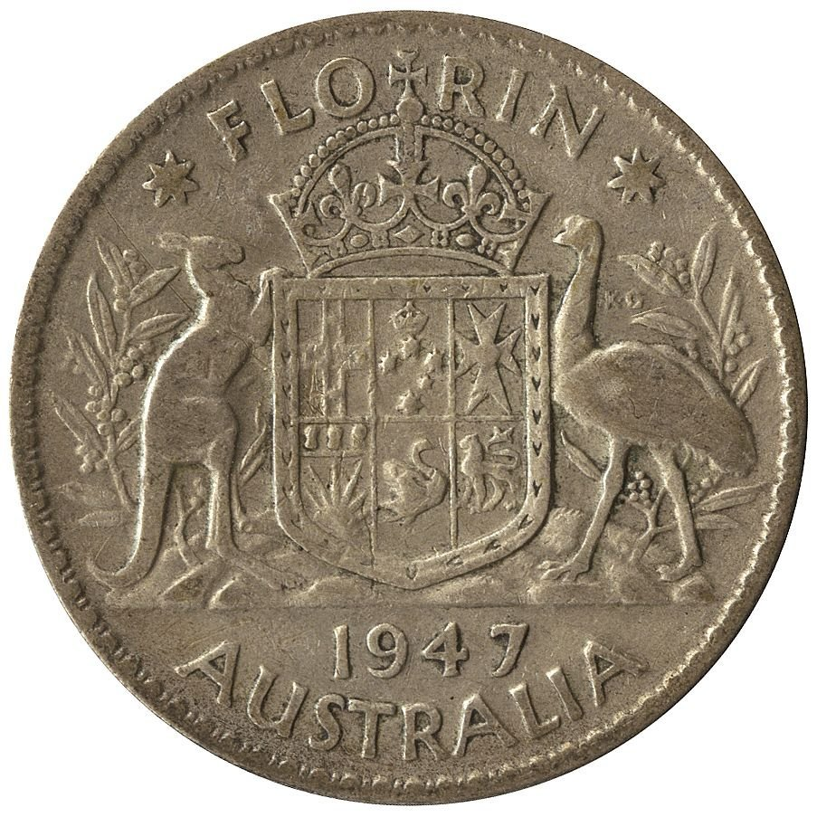 Australian Silver; pre 1945 1937 Crown (1), 1/- (4), 6d