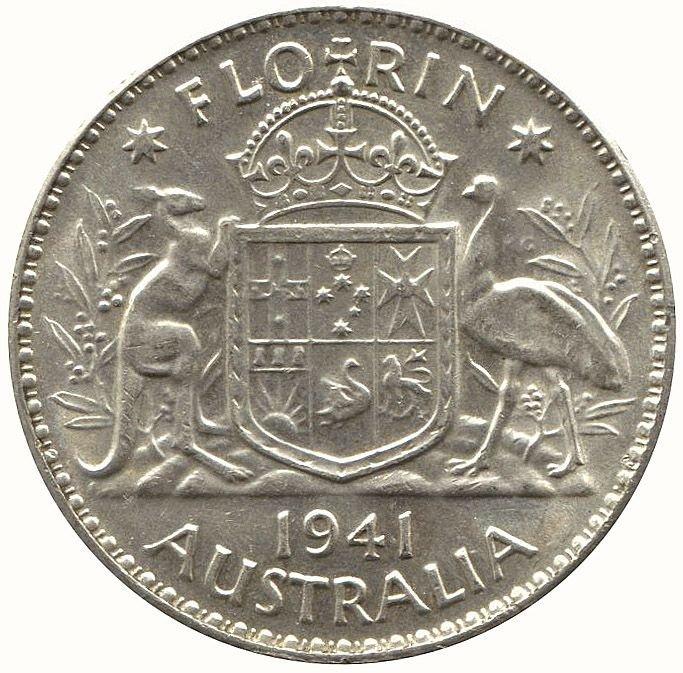 Mixed group: Australia: 2/- (3, 2 pre 1945) & a group