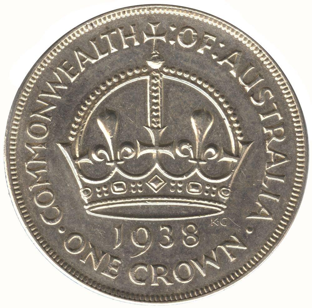 Group incl. Pre 1945, Crown (4 incl. a 1938, V/VF), 2/-