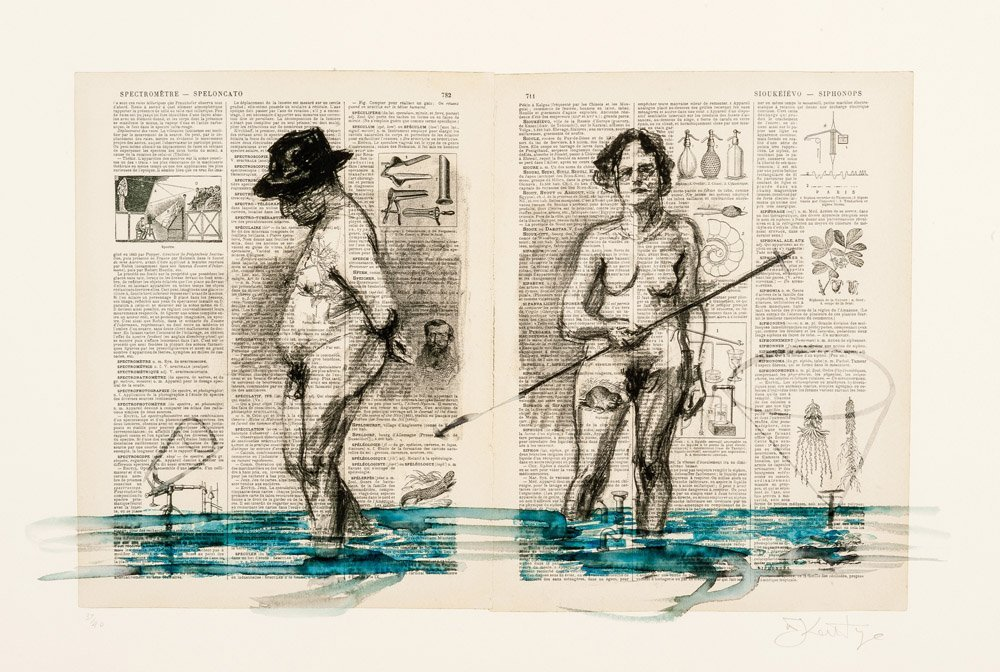 WILLIAM KENTRIDGE (South African, born 1955),