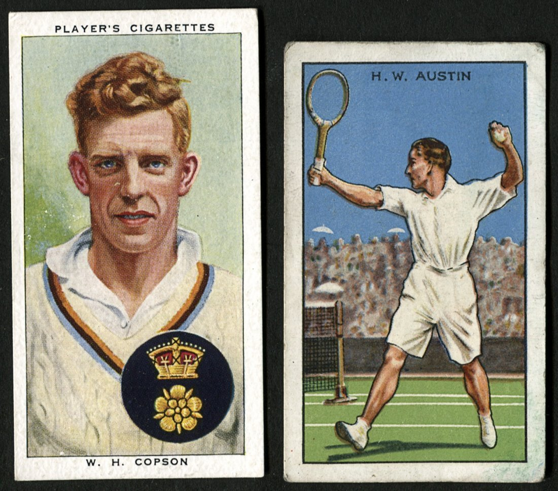 "SPORTS CARDS, comprising Players ""Cricketers 1938"" [50];"
