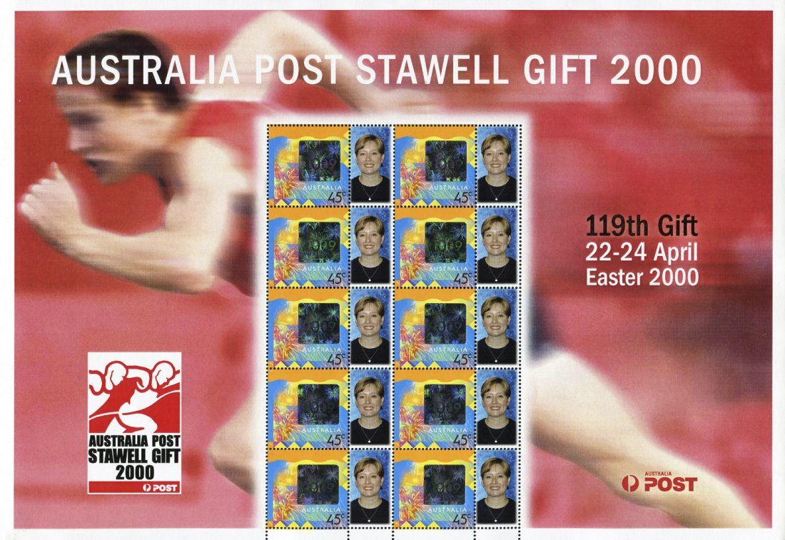 Range of Australia Post Special Event stamp sheets: